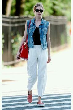Summer Denim Vest