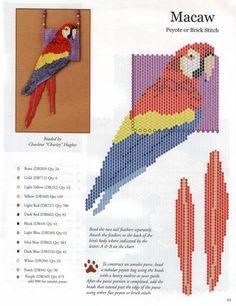 animales de abalorios, esquema de cuentas de los animales, con cuentas de perlas de leopardo de pavo real
