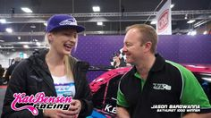 Kat Benson Chats With Jason Bargwanna - CRC Speedshow 2013