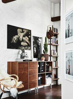 Un apartamento en ESTOCOLMO.....visto en ELLE DECORACIÓN…
