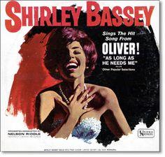 Shirley Bassey Vinyl Record LP Cover Art
