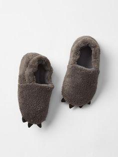 Fleece bear slippers Product Image