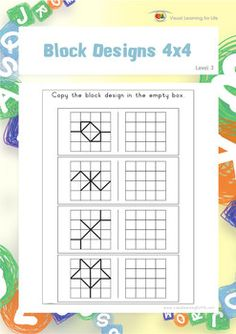 Free Printable Visual Perceptual Worksheets Repinned By