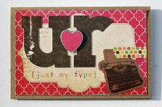 Ur my type card