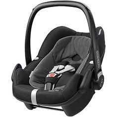 Buy Maxi-Cosi Pebble Plus i-Size Group 0+ Baby Car Seat, Black Raven Online at johnlewis.com