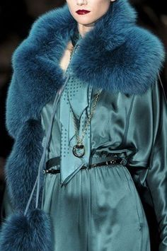 Gucci…elegance of teal