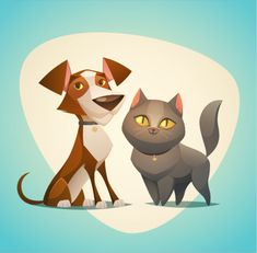 Find Cat Dog Characters Cartoon Styled Vector stock images in HD and millions of other royalty-free stock photos, illustrations and vectors in the Shutterstock collection. Dog Calendar, Cat Clipart, Dog Icon, Cat Stands, Cat Character, Character Design, Dog Poster, Dog Illustration, Cartoon Dog