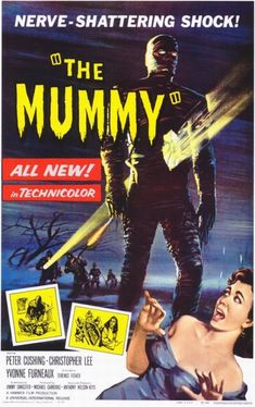 'The Mummy' - 1959 art by Bill Wiggins