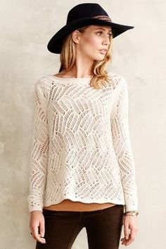 # This - Angel of the North Amanecer Pullover  #anthrofave #anthropologie