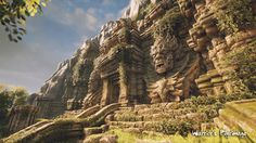 Warrior\'s Pilgrimage Outdoor Temple Area by Arif Pribadi | Fantasy | 3D | CGSociety