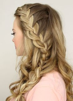 13 Ways to Add a Braid to Your Hairstyle via Brit + Co.