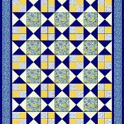 Hourglass Quilt Pattern 3 Sizes  - via @Craftsy