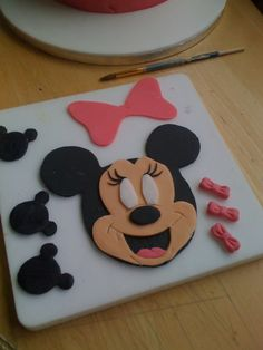 Minnie Mouse Cakes | Queenie Cakes: Minnie Mouse 3rd Birthday Cake
