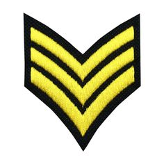 Sergeant Patch Embroidered Army Military Patch Iron on Patch Sew on Patches