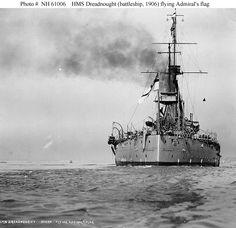 Acorazado Dreadnought. Royal Navy