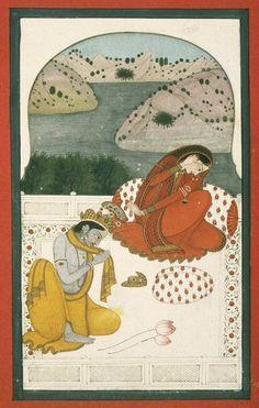 Niramish   निरामिष : Photo khandita nayika rebuking her lover
