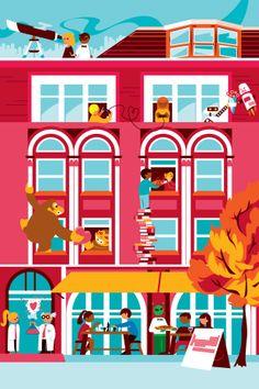 Editorial Illustration for The Boston Globe on Behance
