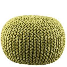 More and More Pin: Dessert Photo of the Da Crochet Pouf, Diy Crochet, Crochet Cats, Crochet Birds, Crochet Furniture, Crochet Stitches, Crochet Patterns, Diy Pouf, Crochet Home Decor