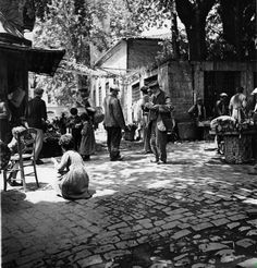 A small neighborhood in Istanbul,1938. by unknown photographer