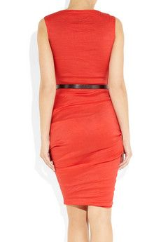 La Petite S***** stretch linen dress. I love linen for summer!