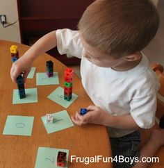 Five Number Activities for Preschoolers (Using materials you have on hand!)