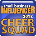 Small Business Influencer Awards supporter badge - yay!