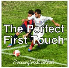 The perfect first touch ! Soccer Girl Probs, Soccer Baby, Live Soccer, Soccer Girls, Play Soccer, Soccer Player Quotes, Football Players, Soccer Problems, Girl Problems
