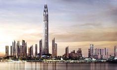 Nakheel Harbour & Tower en Dubai #arquitectura #architecture #dubai #buildings #edificios