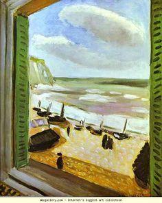 Henri Matisse: Open Window (artist study)