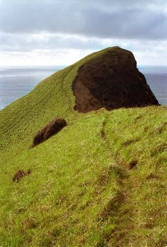"""apparently there is a nice high grassy perch in Lincoln City, OR closer to town than Cascade Head (this photographer named it """"Elias' Knoll"""" and I've also seen it called """"the thumb"""", guess it's at Road's End State Park)"""