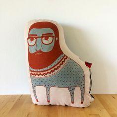 Legendary Eric - Centaur- Cotton Pillow - Screen Printed Doll