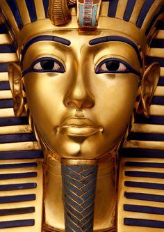 The Death Mask of King Tutankhamun Tumblr