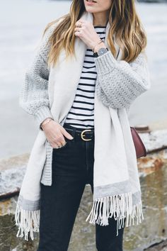 chic winter outfit / Jess Kirby