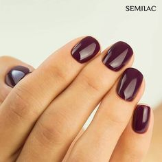 37 Popular Nail Colors Ideas This Fall Winter - Nails - Nail Popular Nail Colors, New Nail Colors, Nail Color Trends, Nail Polish Colors, Polish Nails, Shellac Nails Fall, Manicure Colors, Cute Nails, Pretty Nails