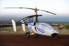 PAL-V is currently taking orders in its home country of the Netherlands, and the first models will be delivered in Pal-V plans to sell. Flying Helicopter, Flying Car, Concept Cars, Classic Cars, Aircraft, Motorcycle, United Nations, Netherlands, Image