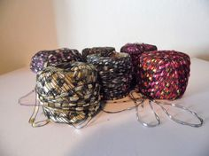 Ribbon Ladder Yarn in various colors Cheap Yarn, Ribbon Yarn, Ladder, Crochet Earrings, Colors, Etsy, Stairway, Colour, Ladders