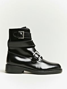 1f2f5e1445 hiii Junya Watanabe Women s Twisted Strap Cordovan Boots Closet  Accessories
