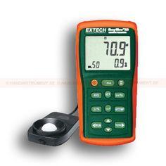 http://termometer.dk/lux-och-lysmaler-r13788/lux-ljusmatare-med-memory-53-EA33-r13798  Lux-/ljusmätare Med Memory  Stort LCD-display med avancerede belysningsværdier funktioner og features  Bredt måleområde til 99.990 Fc (999.900 lux) med opløsning på 0.001Fc og 0.01Lux  luminans (candela) beregninger  Store og husker op til 50 målinger, omfatter slægtning eller real time clock stamp  Ripple funktionen ikke omfatter virkningen af falsk lys fra den primære lyskilde måling...