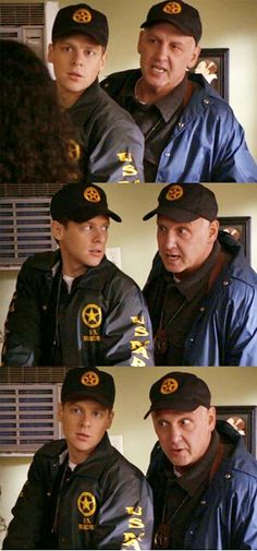 Tim and Art ~ Tim should ALWAYS wear this cap. Preferably backwards.