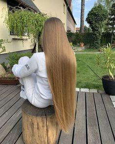 Perfect Blonde Hair, Brown Blonde Hair, Shot Hair Styles, Curly Hair Styles, Beautiful Long Hair, Gorgeous Hair, Half Shaved Hair, Silky Smooth Hair, Rapunzel Hair