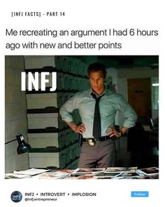 Infj Traits, Infj Mbti, Enfj, Introvert, Myers Briggs Personality Types, Infj Personality, Type 6 Enneagram, Amazing Quotes, Memes