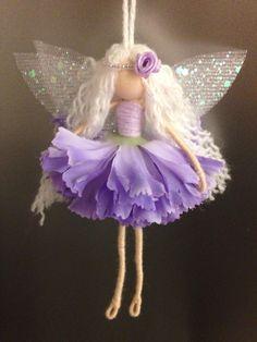 Alice fairy, fairy ornament, fairy doll, wire fairy Wire doll   Www.facebook.com/lulatuesdays