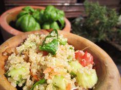 Quinoa salad by Bite Me, my friend Mimi's blog