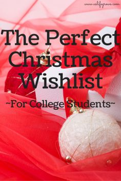 The Perfect Christmas Wishlist for College Students * As Life Grows
