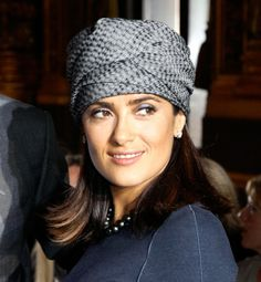 SHE ALWAYS LOOKS GOOD...EVEN WITH A TURBAN