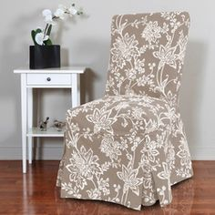 Demask Dining Room Chair Slipcover