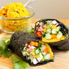 Big Fat Nori Wraps - The Kitchen Table - The Eat-Clean Diet®