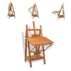 Reeves Worcestershire Studio Workstation and Easel: Amazon.co.uk: Toys & Games