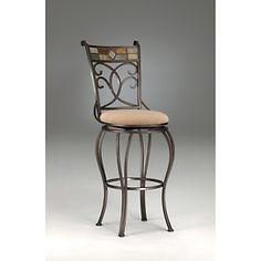 Hillsdale Furniture Pompei Swivel Stool  at HSN.com.