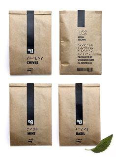 Alton Brown spice packaging by Hampus Jageland